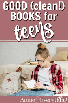 It can be hard to find good clean books for teens that are interesting AND appropriate. I'm not scared to recommend this list to anyone! Best Books For Teens, Good Books, Homeschool High School, Homeschooling, Clean Book, Christian Living, Nonfiction, Mystery, Parenting