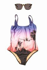 """We Are Handsome """"Los Angeles"""" swimsuit"""