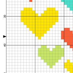 Heart Home Cross Stitch Pattern