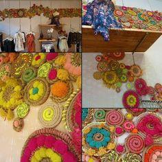 Free People coil rugs DIY