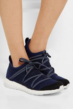 Adidas by Stella McCartney | Pure Boost X mesh sneakers | NET-A-PORTER.COM