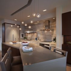 Patricia Gray | Interior Design Kitchen Island Hamilton Penthouse Vancouver