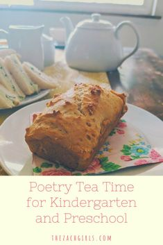 Have you heard about Poetry Tea Time? Let's talk about how to make this work with young children, how to manage our own expectations, and make this a peaceful part of the homeschool day! | the zach girls Share Poetry, Before Kindergarten, Charlotte Mason, Make It Work, Autumn Theme, Science Projects, Let Them Talk, Young Children, Early Learning