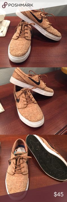 Janoskis by Nike Cork Janoski's.  Great condition. Rarely worn, as my sons feet grew too quickly to enjoy. Nike Shoes Athletic Shoes