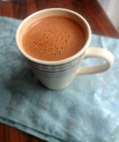 The Cooking Actress: Hot Chocolate in a Microwave-for One (ready in 5 minutes!)