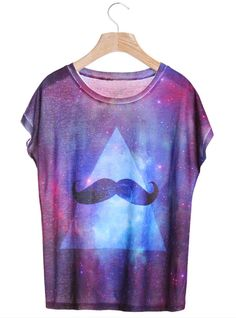 Galaxy Beard T-Shirt $32! All cross items start at $11, and you can get a free ring if shop over $70 before 4/10!  http://www.udobuy.com/index.php