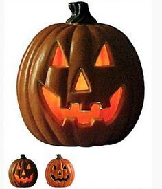 Halloween licht gevende pompoen - J-style-deco