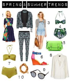 Trends Spring Summer 2013