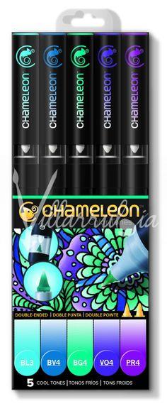 Pack/Estuche Chameleon 5 Tonos -FRIOS-