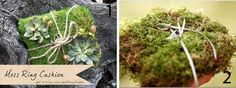 Moss Wedding Decor Ideas ~ Get To Know Your Wedding Flowers