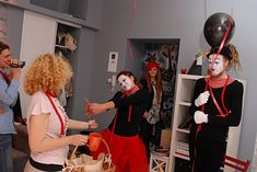 french party with mimes in Folga Studio Events, French, Studio, Party, French People, Studios, Parties, French Language, France