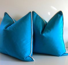 Pillow covers via etsy