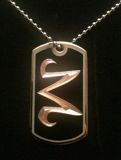 Dragon Ball Z Majin Dog Tag Necklace by ambersunset on Etsy, $10.00