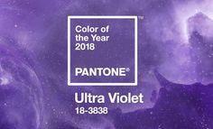 Colors // #Pantone dévoile sa couleur de l'année pour 2018. Et après le Greenery de cette année, place à l'Ultra Violet, et plus précisément l'Ultra-Violet 18-3838 pour les puristes ! #couleur #color #ultraviolet #pantone2018
