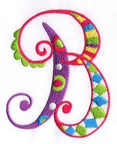 Zany Alphabet Designs