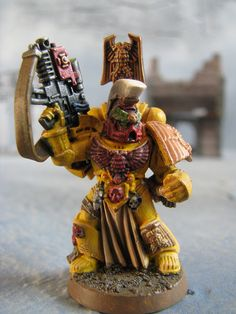 Imperial Fist Sternguard Veteran Sergeant front | Flickr - Photo Sharing!