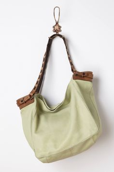Slouchy Leather Hobo
