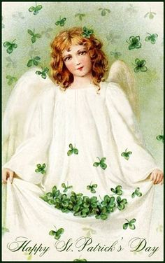 Vintage Style St Patrick's Day Greeting Cards · De'esse Boutique ...