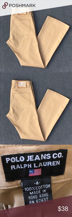 """NWOT! Ralph Lauren Straight Leg Pants. NWOT! Ralph Lauren Straight Leg Pants. These Pants Have a Really Nice Disco Like Gold-ish Sheen to Them. Dress Them Up or Down. Inseam Measures 30"""" Rise Measures 9"""". Ralph Lauren Pants Straight Leg"""