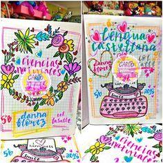 Temporada Escolar 2018 Marcamos Tus Cuadernos Con Muchísimo Amor • Tráelos Con Anticipación  --------------------------------- Horario de Atención  • Lunes a Sábado De 8am a 8pm • Domingos De 9am a 4pm ✅Jornada Continua✅ --------------------------------- Les Recordamos Que Estamos Ubicados En La Calle 8N # 2 - 10 Barrio Chapinero Frente de los semáforos  De La Avenida Las Américas  Cucuta-Colombia WHATSAPP3142762351 ----------------------------... Earth Science Projects, School Notebooks, Borders For Paper, Decorate Notebook, Studyblr, My Notebook, Bible Art, Border Design, Cover Pages