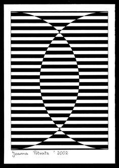 victor vasarely black and white - Google Search More