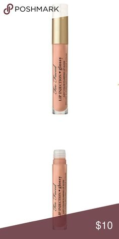 Too Faced Lip Injection Glossy Milkshake New New, never opened, never used. 0.03oz Nude *First 2 pictures are property of Too Faced  Bundle and Save  tags: Ipsy Birchbox Glossybox Boxycharm Allure Sephora Make Up Too Faced Makeup Lip Balm & Gloss