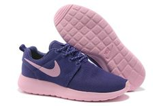 brand new e5507 62a78 Baskets Nike Roshe Run Femme Pourpre Rose Mesh YE130 Chaussure Nike Free, Chaussure  Running,