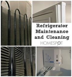 Don't replace a perfectly good refrigerator just because dust is slowing it down.
