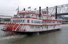 Belle of Cincinnati   Ohio River Cruise
