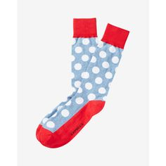 Express Dot Print Dress Socks ($11) ❤ liked on Polyvore featuring men's fashion, men's clothing, men's socks, blue, mens blue socks, mens polka dot dress socks, mens polka dot socks, mens blue dress socks and express mens socks