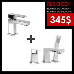 345$ (Rubi lavabo 140$ et PPP bain 205$) chez Liquidation Plomberie Mascouche