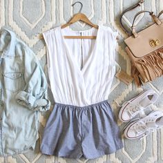 Sunny Valley Romper, Sweet Chambray Rompers from Spool No.72.   Spool No.72