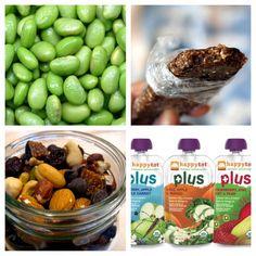 Healthy, On-the-Go Organic Snacks for Kids + Links to Homemade Lara Bars, GF Nutri-Grain Bars, etc.   Freshly Grown