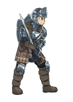 APPROACHING THE AIR FORTRESS - Dark Souls - Starting Class - Knight — Warrior...