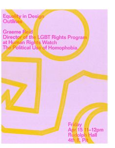 """equalityindesign:  Excited to announce our next Brown Bag Lunch, co-hosted with Outlines, with Graeme Reid who will be delivering the lecture""""The Political Use of Homophobia"""""""