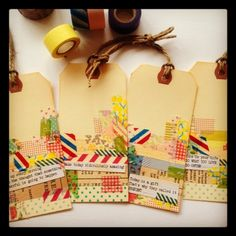Great Washi tape ideas here.