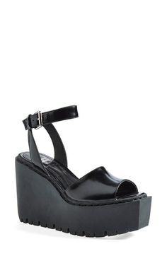 Opening Ceremony 'Grunge' Wedge Ankle Strap Sandal (Women) available at #Nordstrom