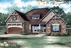 Country European House Plan 82187 Elevation