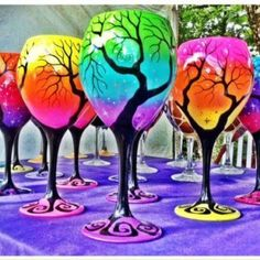 Colorful glasses PROM IDEA!!!