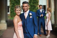 Wedding Suit 2017 Latest Coat Pant Designs Navy Blue Wedding Suits for Men Jacket Groomsmen Tuxedo Skinny 3 Piece Custom Prom Blazer Ternos Mens Wedding Suits Navy, Wedding Suit Hire, Wedding Suit Styles, Blue Suit Wedding, Tuxedo Wedding, Perfect Wedding Dress, Wedding Men, Wedding Attire, Wedding Dresses