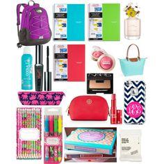 my bookbag essentials