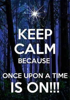 """Keep Calm"" once upon a time. love. addiction."