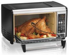 Hamilton Beach Set & Forget Toaster Oven with Convection Cooking