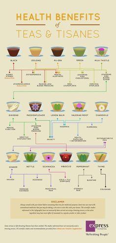Herbal Tea Remedies Chart Lots Of DIY Recipes | The WHOot