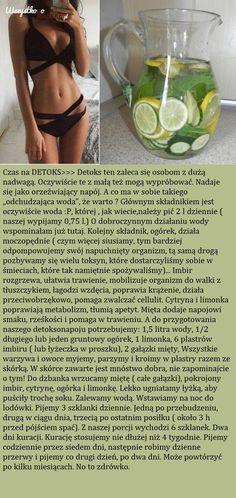 Czas na DETOX >>> Zalecany osobom z dużą nadwagą!!!