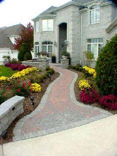 Front Brick Walkway