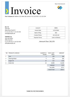 Format Of An Invoice Free Invoice Template For Wedding Supplier In Microsoft  Word 835 X 1150  Basic Invoice Template Microsoft Word