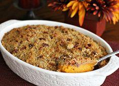 Southern Style Sweet Potato Souffle