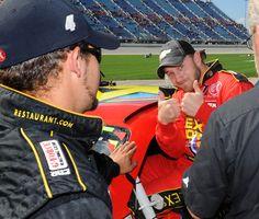 Jeffrey Earnhardt, Dale Earnhardt Jr, The Great Race, Sprint Cup, Motor Speedway, Nascar, Race Cars, Chevrolet, The Past