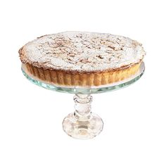 A classic, Tuscan-born tart, it is one of the most popular and well-known Italian desserts. The top is studded with crunchy almond nuts and dusted with icing sugar.